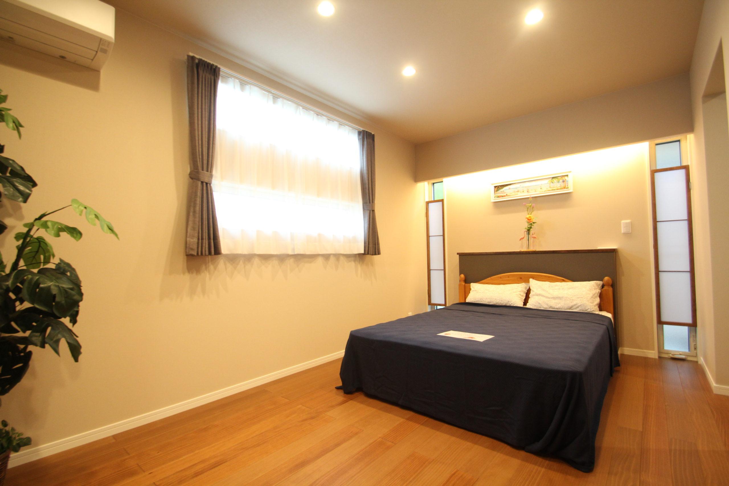 7帖の主寝室+ウォークインクローゼット